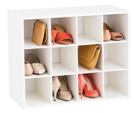 12-Pair Shoe Organizer
