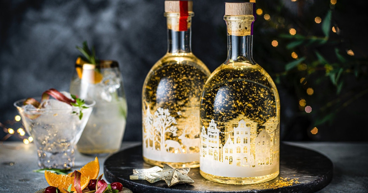 M&S Is Now Sells A Gin That Literally Lights Up