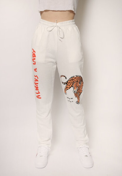 "addison rae ""always a lady"" sweatpants"