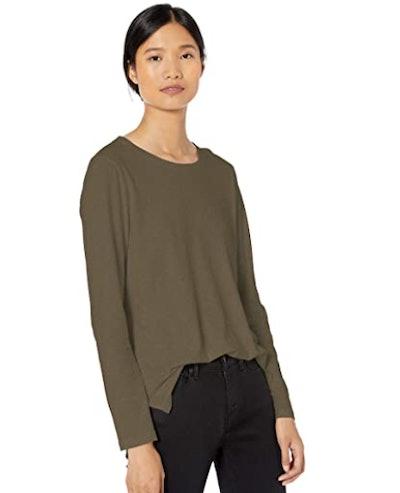 Goodthreads Jersey Cotton Long-Sleeve T-Shirt