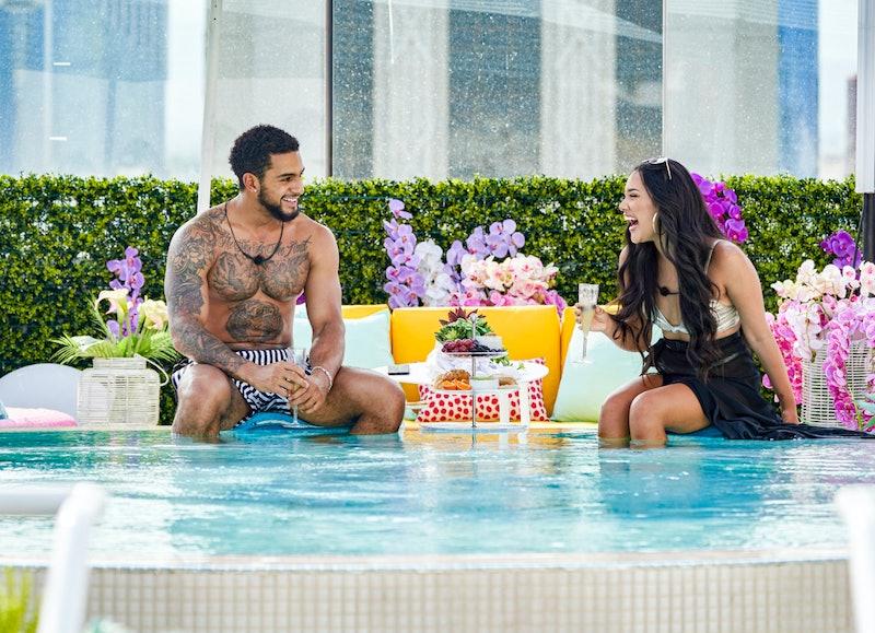 Cely and Bennie Love Island Season 2 via CBS Press Site