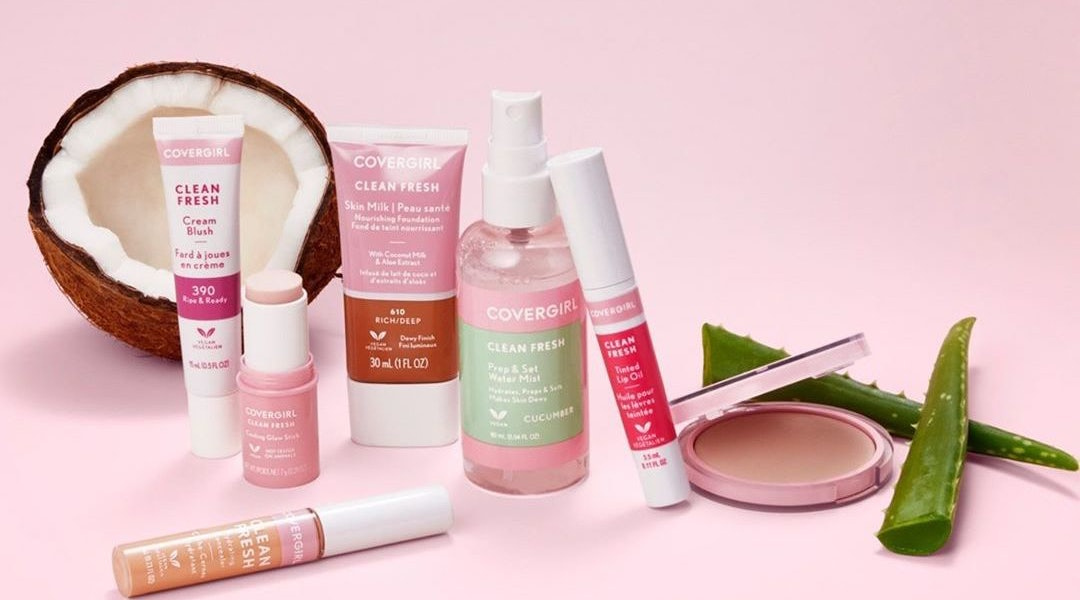 COVERGIRL's fall 2020 collection includes four new Clean Fresh products