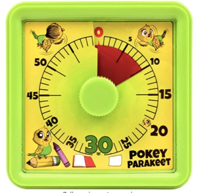 Pokey Parakeet Visual Timer