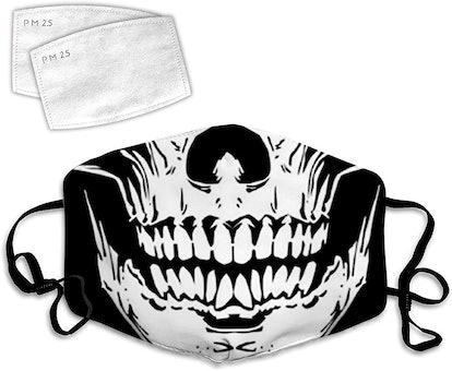 HFJDHF Skeleton Mouth Adjustable Size Multi-Purpose Facial Trim, Headbands, dust, Wind, Sun, Outdoor Festival Sports, Unisex