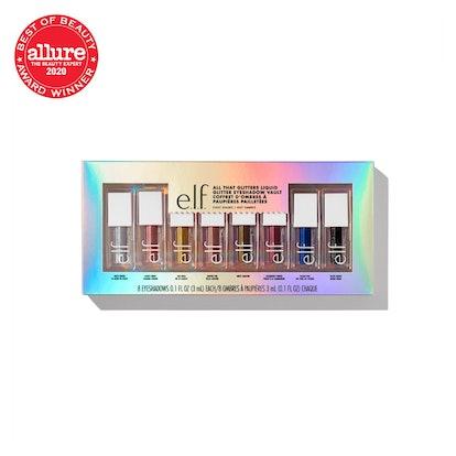 e.l.f. All That Glitters Liquid Glitter Eyeshadow Vault