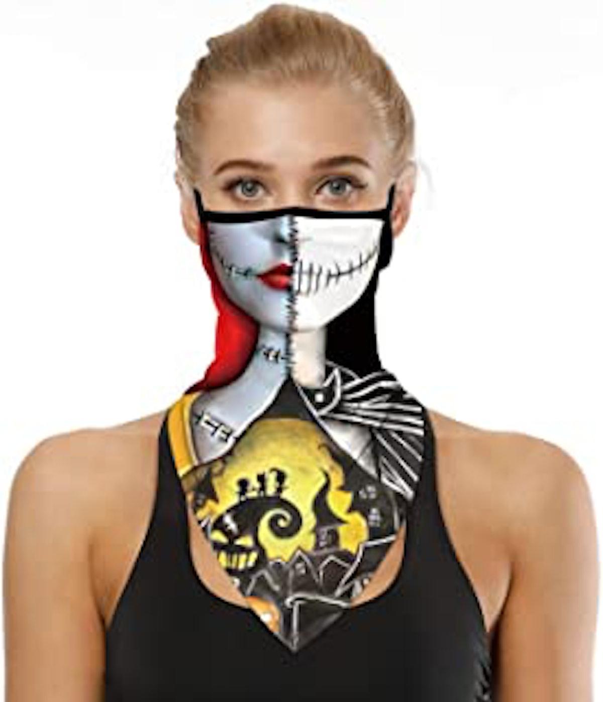 YAYOUREL SRVOKOX Neck Gaiter Face Mask