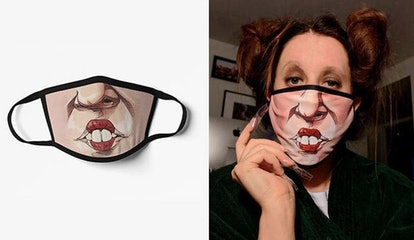 CassysTopShop Hocus Pocus Mask, Face Mask