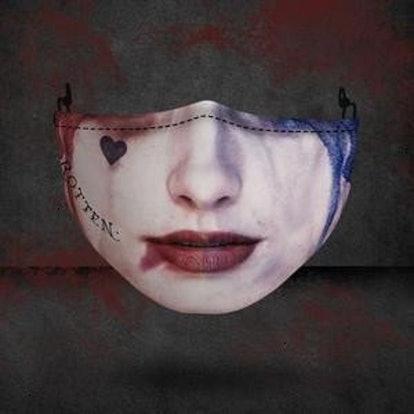Bebecolohe Harley-Quinn Joker Horror Halloween Movie 3 Layer Face Mask
