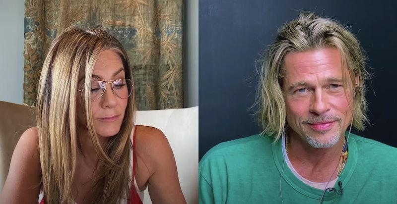 Jennifer Aniston & Brad Pitt's Fast Times Reunion