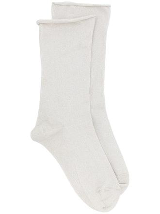 Cashmere-Knit Socks