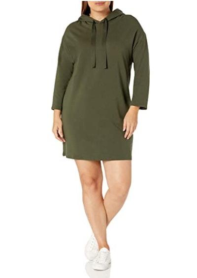 Daily Ritual Terry Cotton and Modal Sweatshirt Dress