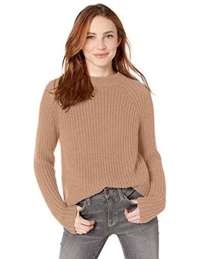 Goodthreads Cotton Shaker Stitch Sweater