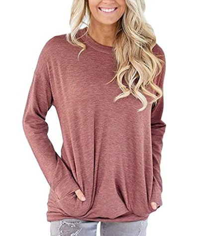 onlypuff Casual Loose Fit Tunic