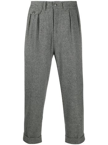 Barbor Pleat-Detail Trousers
