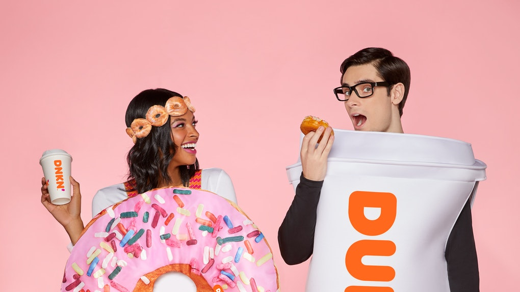 These 2020 Spirit Halloween Dunkin' costumes are inspired by your fave combo.