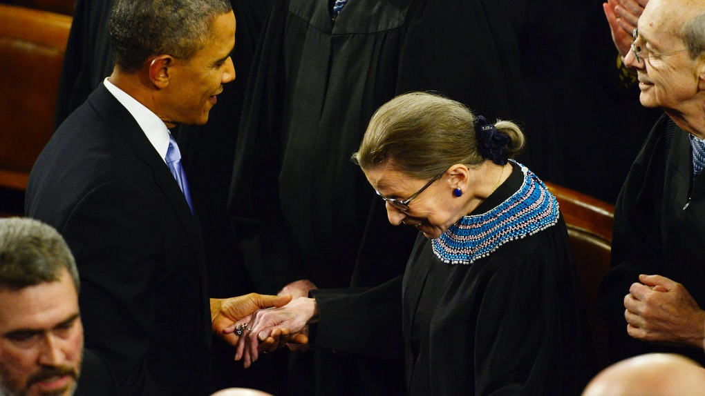 Barack Obama's statement on Ruth Bader Ginsberg's death is a touching nod to her accomplishments.