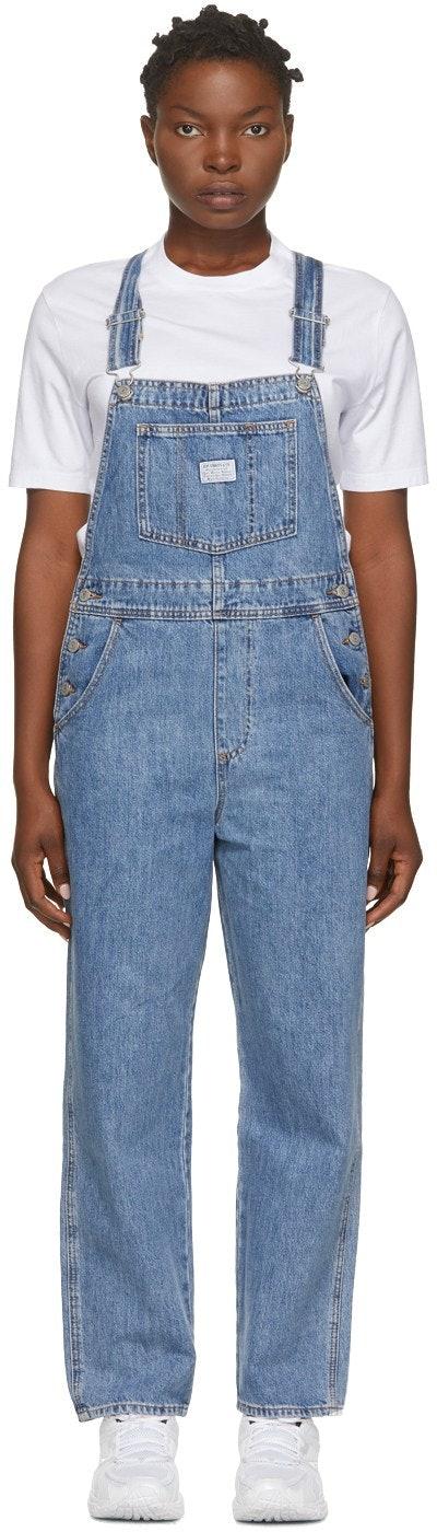 Blue Denim Vintage Overalls