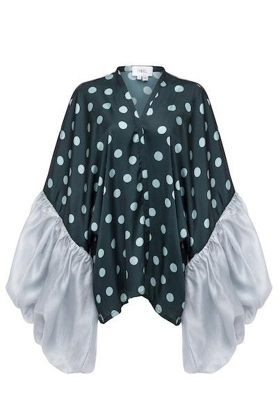 Polka Dot Short Robe