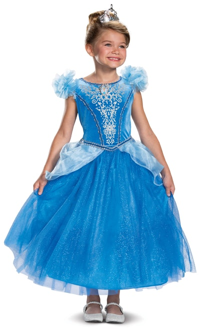 Disguise Disney Princess Girls Deluxe Cinderella Halloween Costume