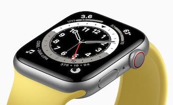 The Apple Watch SE