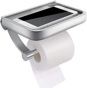 Homemaxs Toilet Paper Holder With Shelf