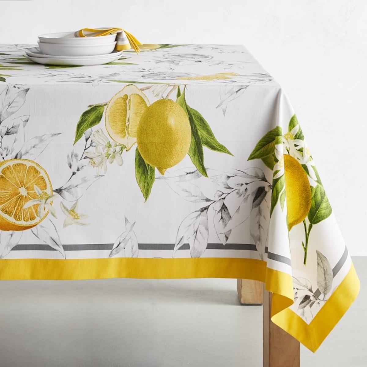 Meyer Lemon Tablecloth
