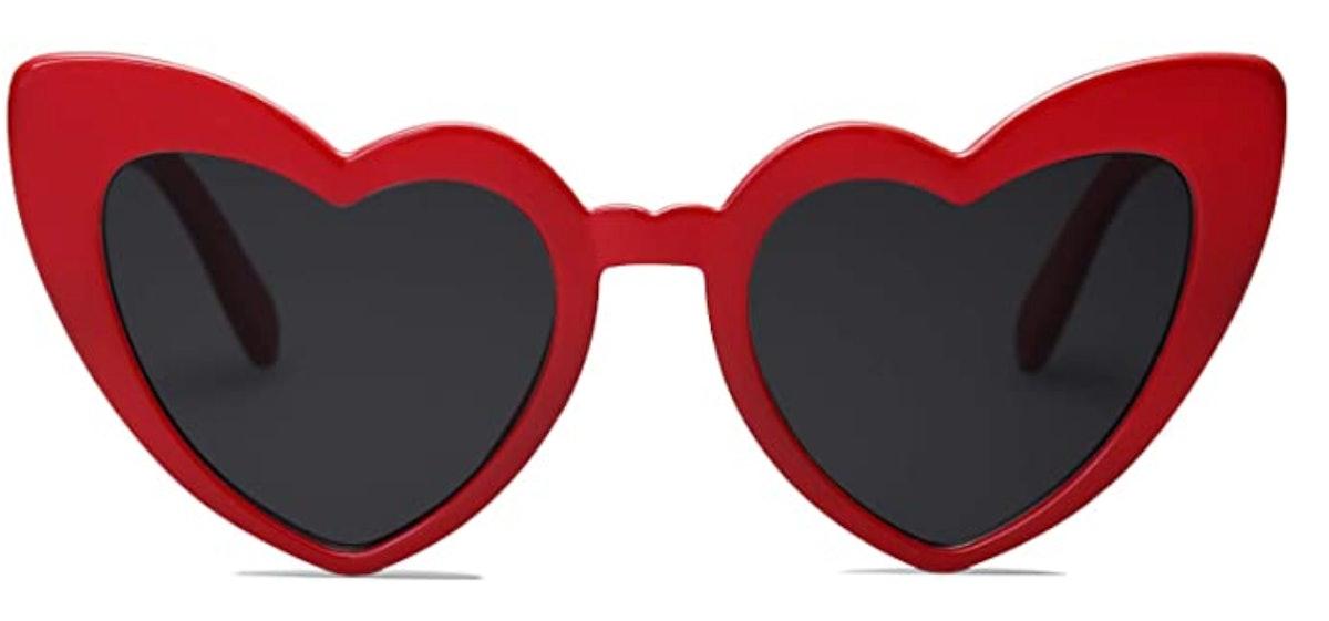 SOJOS Heart Shaped Sunglasses