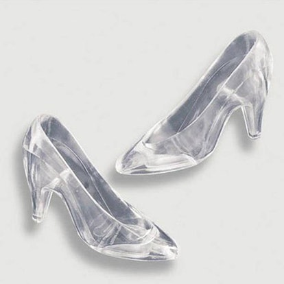 12 Clear Cinderella Glass Slippers
