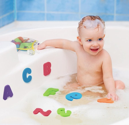 Click N' Play Bath Foam Letters & Numbers  (36 Pieces)