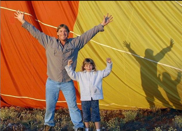 "Bindi Irwin says her dad is her ""guiding light."""