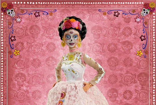 The new Barbie Dia De Muertos doll features stunning details.