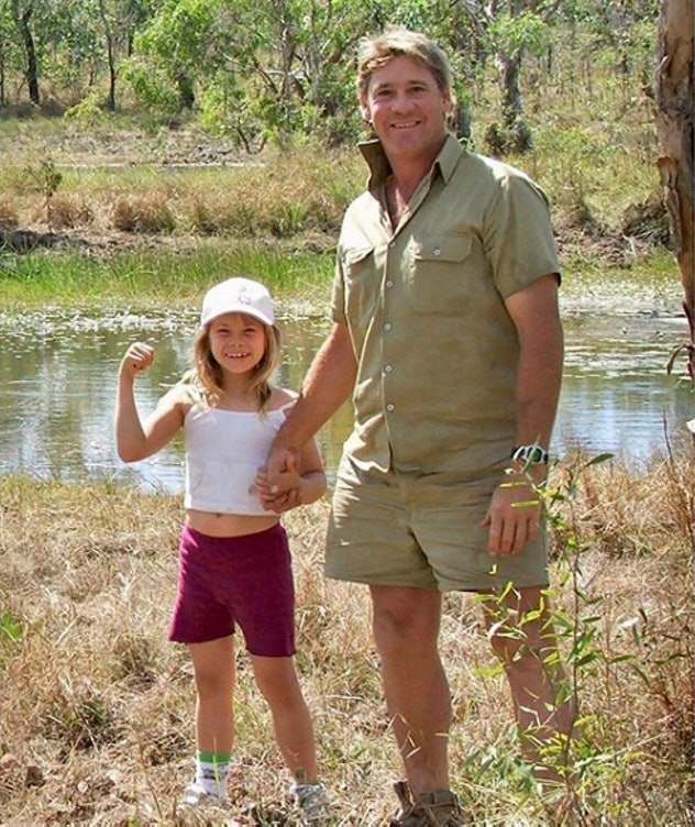 Bindi Irwin says her dad taught her to stand up for what's right.