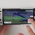An Android phone running a Nintendo Switch emulator