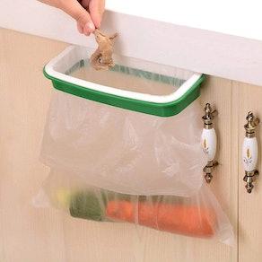 Lunies Over-The-Cabinet Plastic Trash Bag Holder