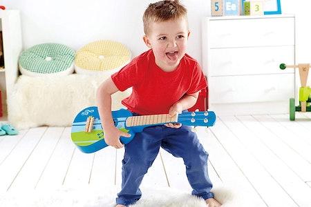 Hape Kid's Wooden Toy Ukulele