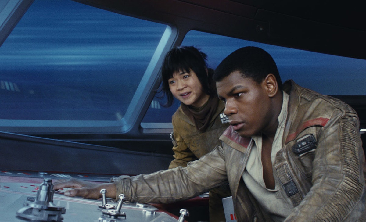 Finn and Rose Tico had diminished storylines in the later 'Star Wars' movies.