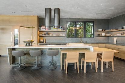 Chrissy Teigen's famous kitchen.