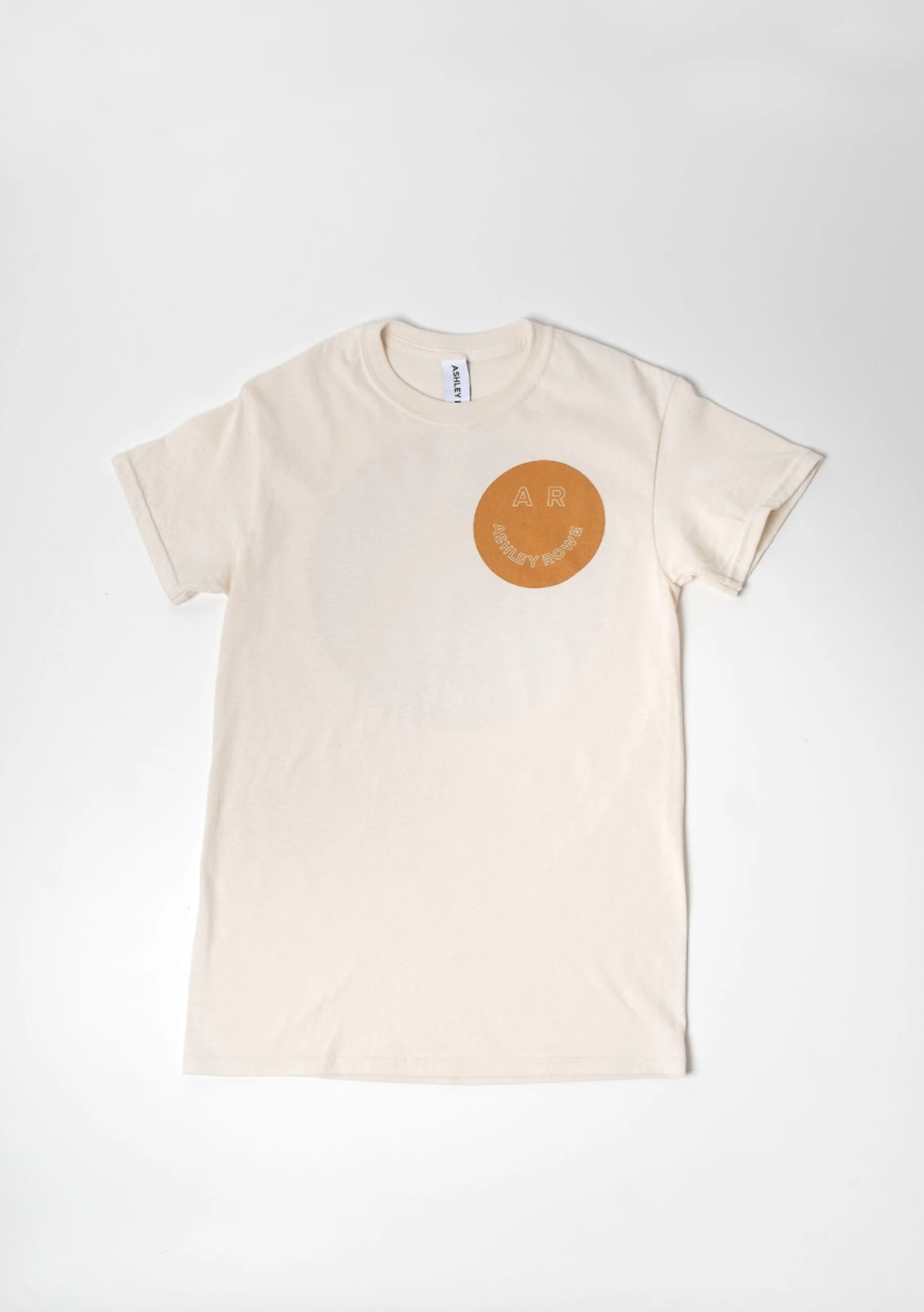 Ashley Rowe Double Sided Smiley Face Tee