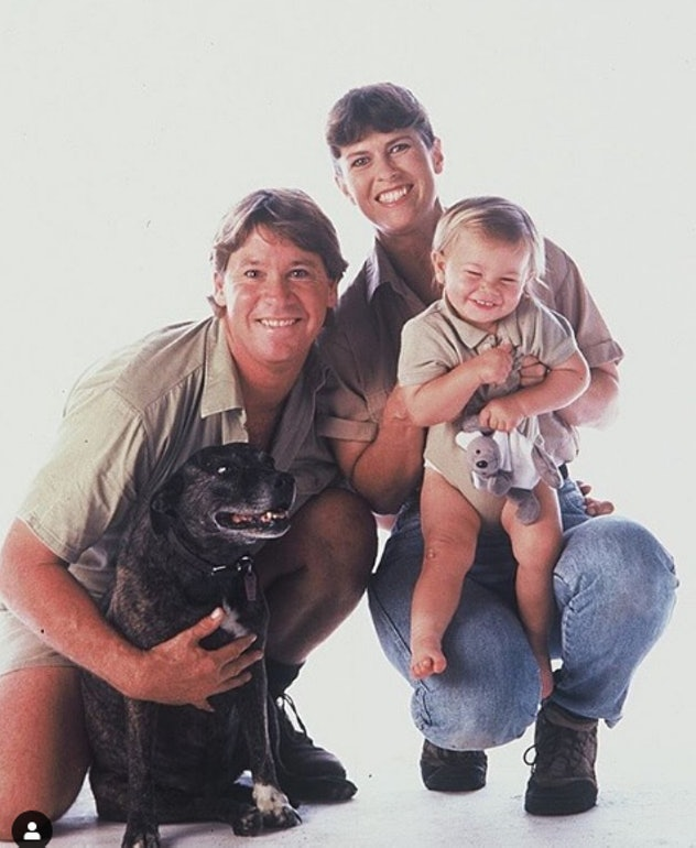 Bindi Irwin is named after the family dog.