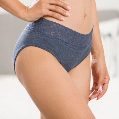 ALTHEANRAY Cotton Lace Panties (6 Pack)
