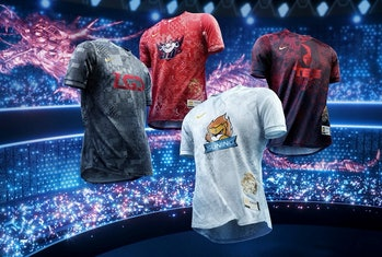Nike League of Legends Jerseys