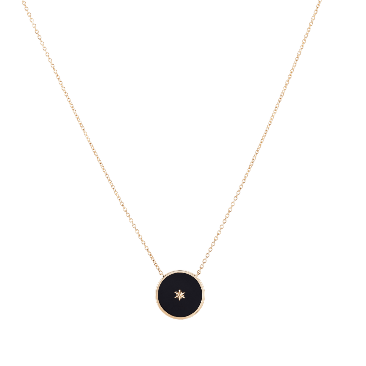 Black Onyx Medallion