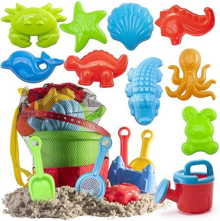 Prextex Beach Toys Set (19 Pieces)