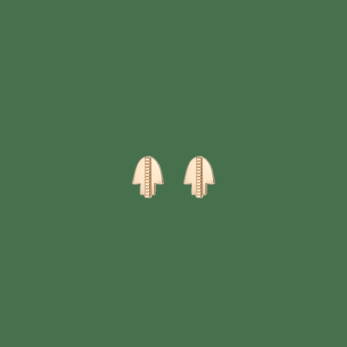 Geometric Hamsa Earrings