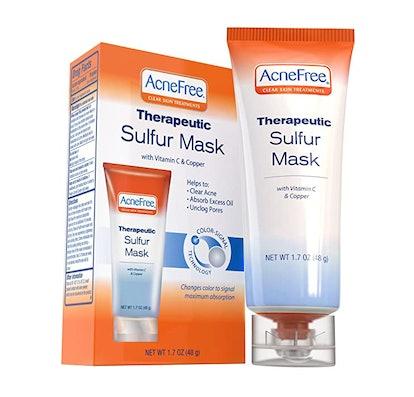 Acne Free Therapeutic Sulfur Mask