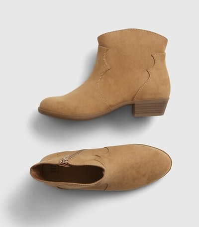 Kids Western Ankle Boots