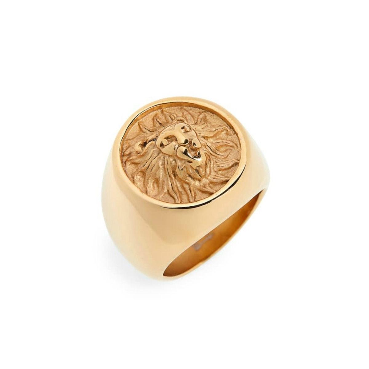 Leo Lion Ring