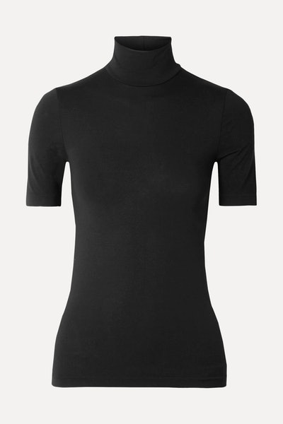 + NET SUSTAIN Aurora modal-blend jersey turtleneck top