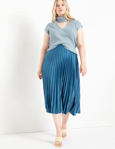Sunburst Pleated Skirt