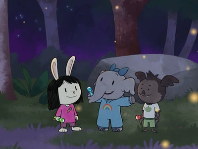 """PBS Kids shares a special look at the network's latest animated series in an exclusive """"Elinor Wonders Why"""" clip."""